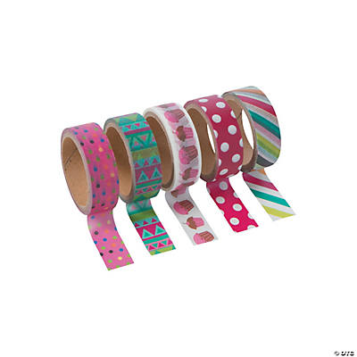 Fun Print Washi Tape Set