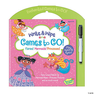 Games to Go: Fairies, Mermaids & Princesses
