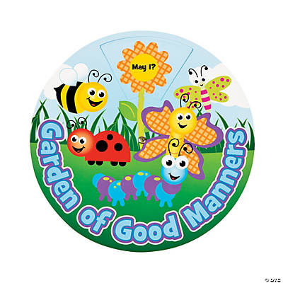 """Garden of Good Manners"" Learning Wheels"