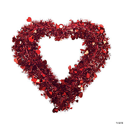 Garland Heart Shaped Wreath