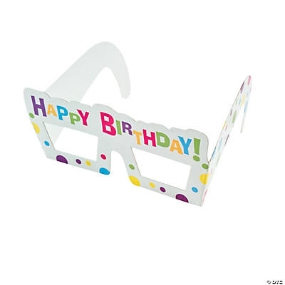 Generic Birthday Party Glasses