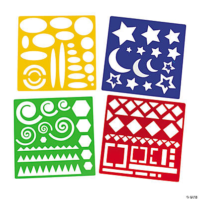 Geometric Shapes Stencils