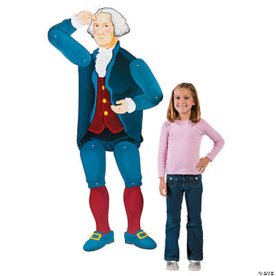 George Washington Jointed Cutout