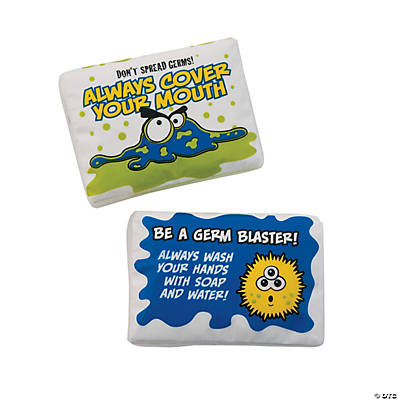 Germ Facial Tissue Packs