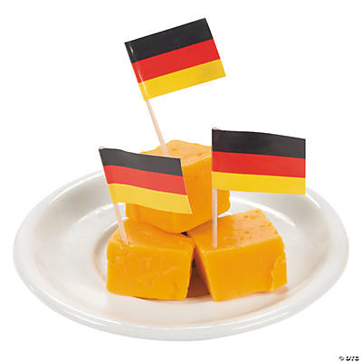 German Flag Food Picks