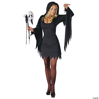 Ghost Face Adult Women's Costume