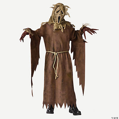 Ghost Face Scarecrow Boy's Costume