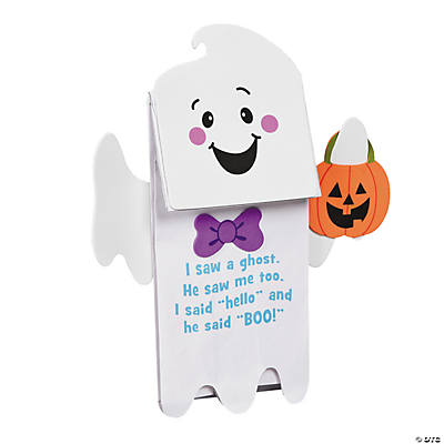 Ghost Puppet with Poem Craft Kit