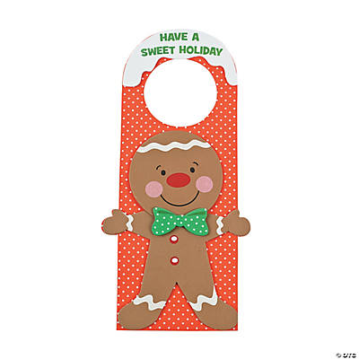 Gingerbread Door Hanger Craft Kit