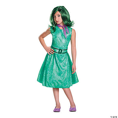 Girl's Classic Inside Out™ Disgust Costume