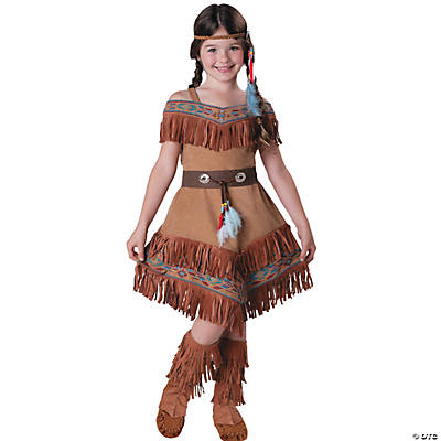Girl's Native American Maiden Costume
