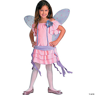 Girl's Posie Pink Butterfly Costume