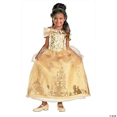 Girls Prestige Disneys Beauty The BeastTM Belle Costume
