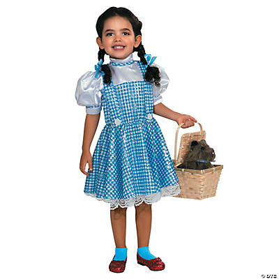 Girl's Sequin The Wizard of Oz™ Dorothy Costume