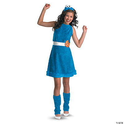 Girl's Sesame Street™ Cookie Monster Costume