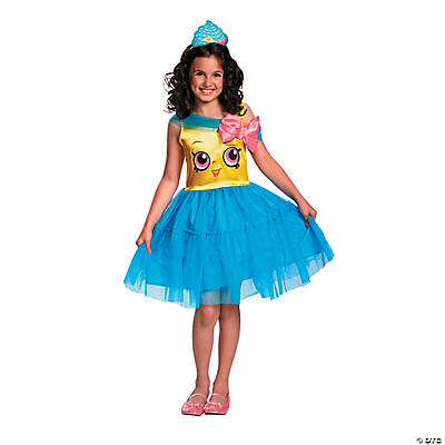 Girl's Shopkins™ Cupcake Queen Costume