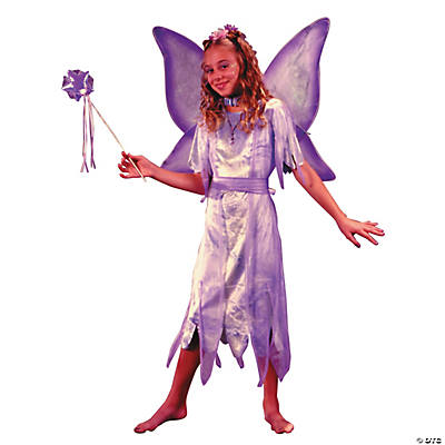 Girl's Watercolor Fairy Costume