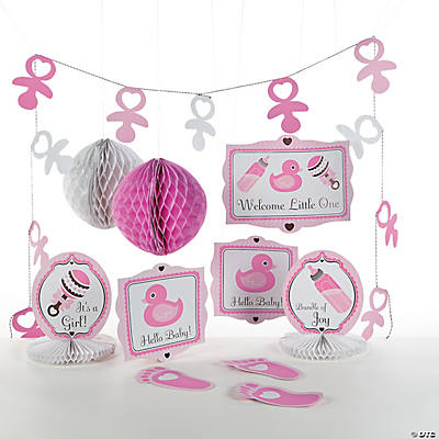 baby shower decorating kit in 13654538 girl s baby shower decorating