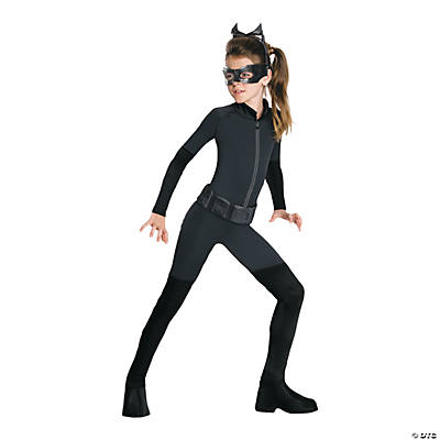 Girl's Catwoman Costume