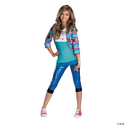 Girl's Classic Shake It Up Cece Costume