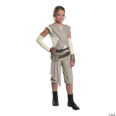 Girl's Deluxe Star Wars: The Force Awakens™ Rey Costume