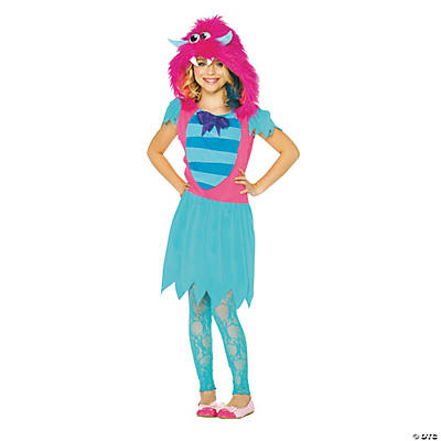 Girl's Growling Gabby Monster Costume