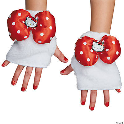 Girl's Hello Kitty Pink Glovettes