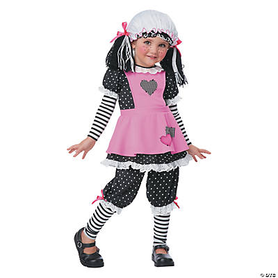 Girl's Rag Dolly Costume - Small