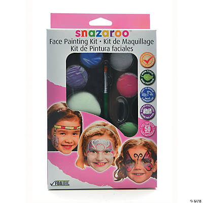 Girl's Snazaroo Face Painting Kits