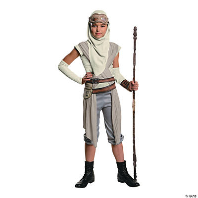 Girls' Star Wars™ Rey Mask with Hood