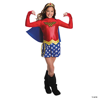 Girl's Wonder Woman Dress Costume