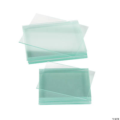 24 Glass Slides