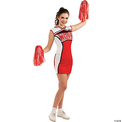 Glee Cheerios Cheerleader Standard Adult Women's Costume