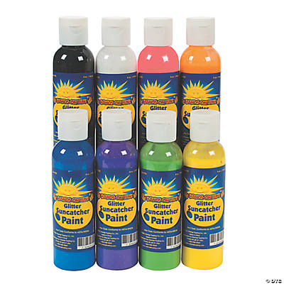 Glitter Sun Catcher Paint Set