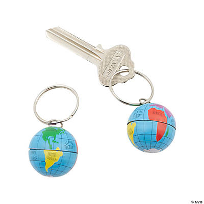 Globe Key Chains
