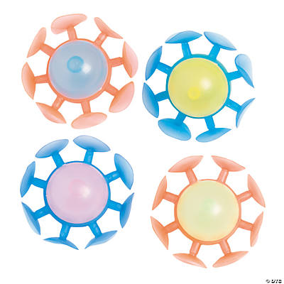 Glow-in-the-Dark Suction Balls