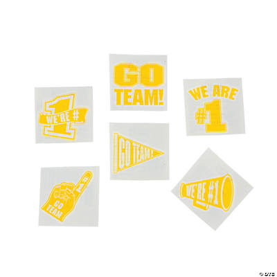 Go Team Tattoos - Yellow