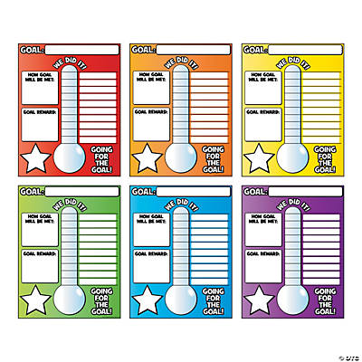 Goal Thermometer Posters