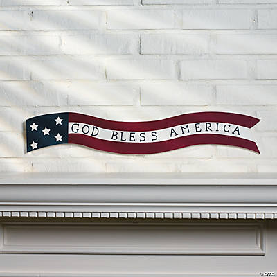 """God Bless America"" Sign"