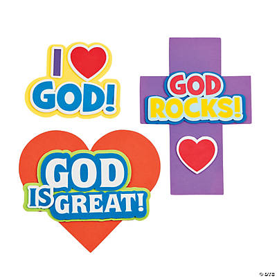 """God Is Great"" Magnet Craft Kit"