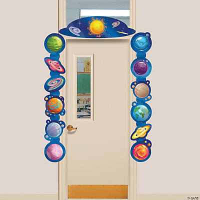 God's Galaxy VBS Door Border