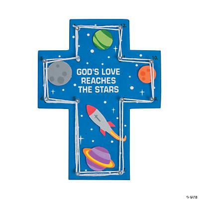 Gods Galaxy VBS String Art Craft Kit