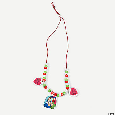 """God's Greatest Gift"" Necklace Craft Kit"