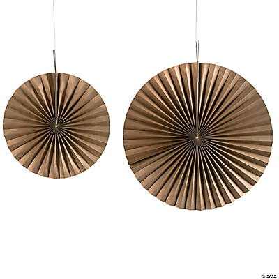 Gold Hanging Fans
