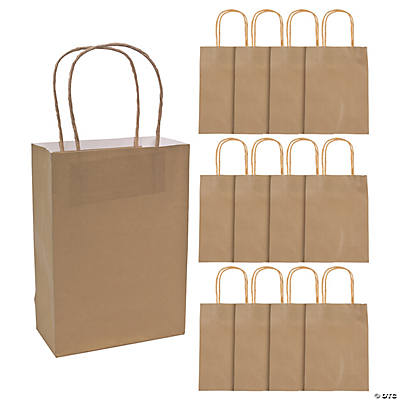 Gold Medium Craft Bags