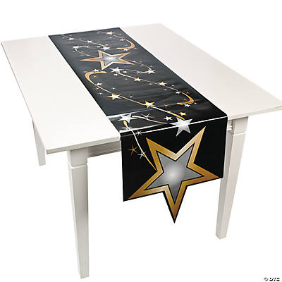 Gold Star Table Runner