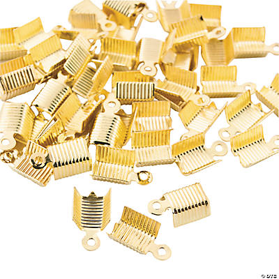 Goldtone Cord Tips