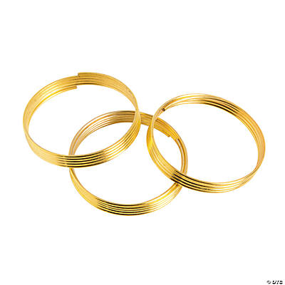 Goldtone Memory Wire Rings