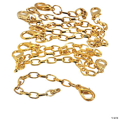 Goldtone Necklace Extenders