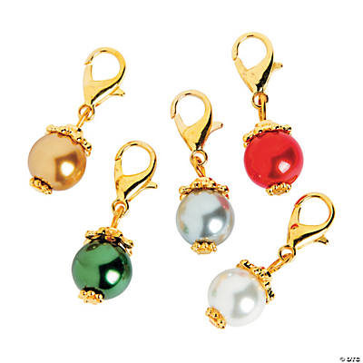 Goldtone Pearl Dangles